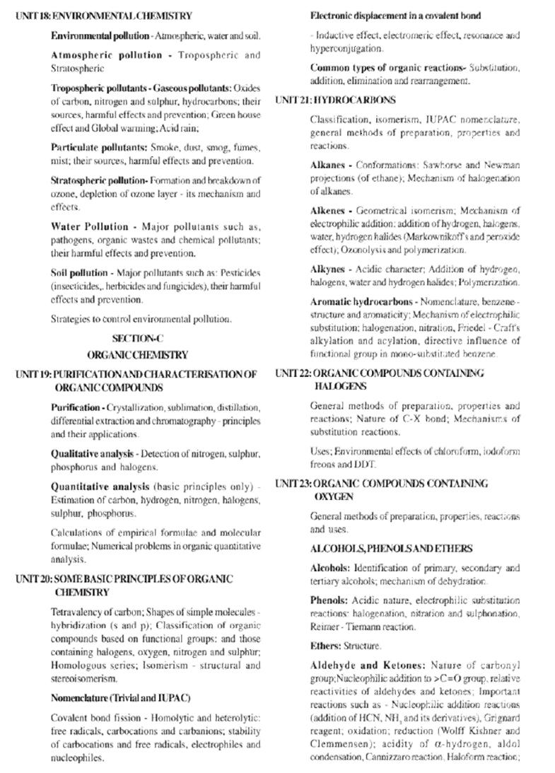 Syllabus for JEE Main B Arch  2019 | ADA
